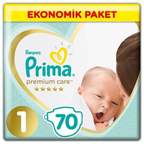 Baby Diaper Premium Care Size 1 Newborn Economic Pac 2-5 kg 70 pcs