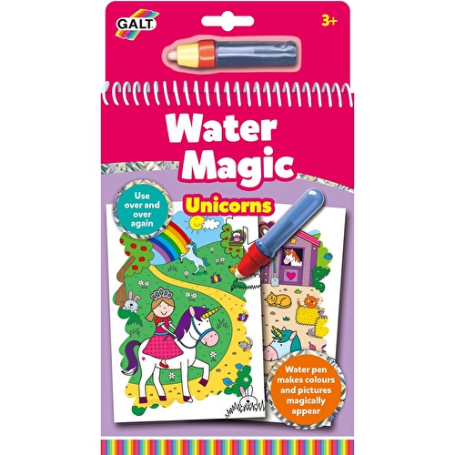 Water Magic Sihirli Kitap Unicorns