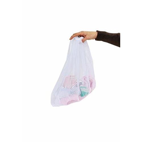 Baby Laundry Bag 46x36 cm 1 pcs White