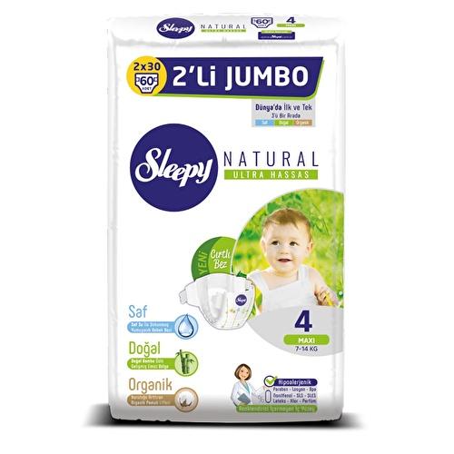 Natural Baby Diaper Maxi 4 Size 60 pcs