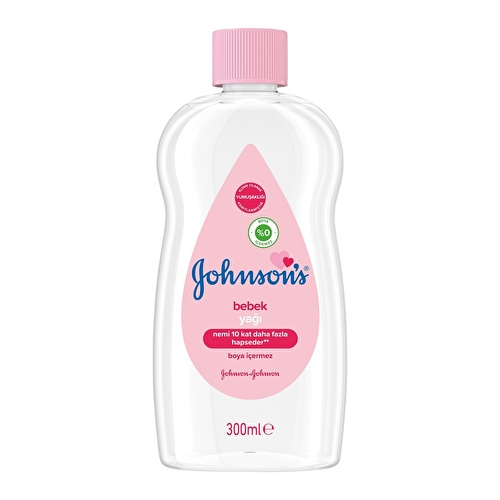 Johnson Moisturizing Oil 300 ml