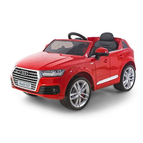 Audi Q7 Kırmızı Akülü Araba