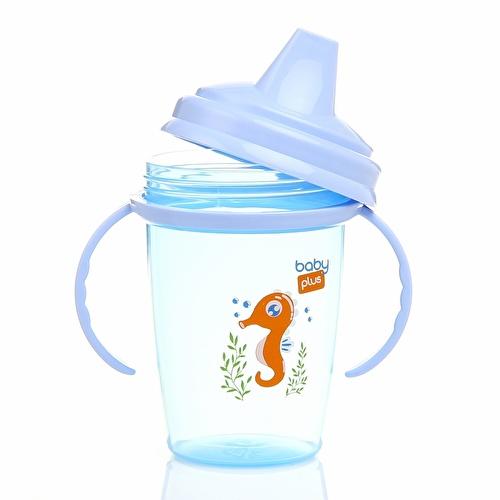 Non-spill PP Glasses 230 ml Blue