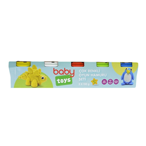 Baby 4+1 Playing Dough Toys