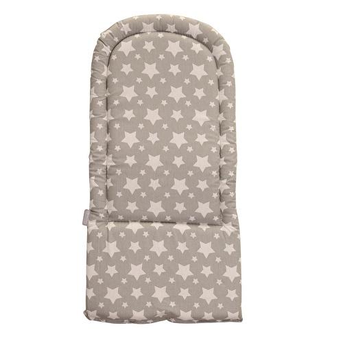 Bebek Mama Sandalyesi Minderi Yıldız Desenli