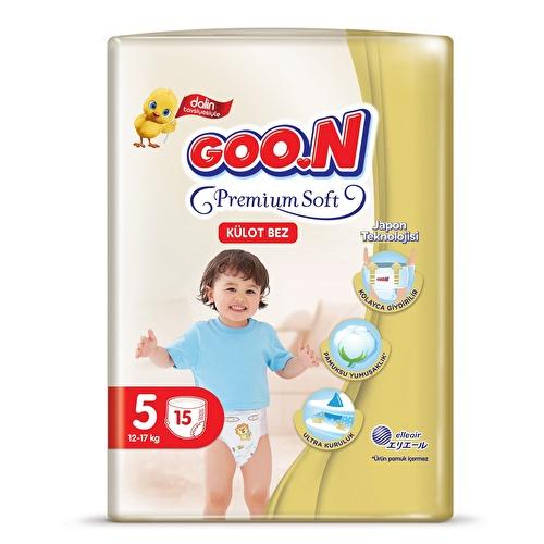 Premium Soft Size 5 Baby Diaper Pants Economic Pack 12-17 kg 16 pcs