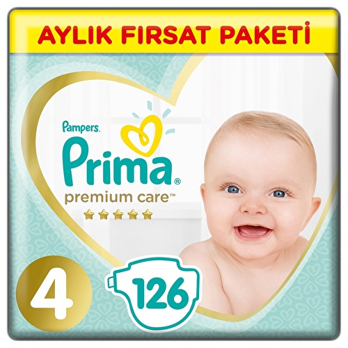 Premium Care Number 4 Baby Diapers Maxi Monthly Value Package 8-14 kg 156 pcs