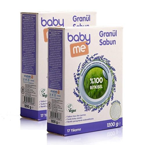 Bitkisel Granül Sabun Tozu 2 Adet 1200 gr
