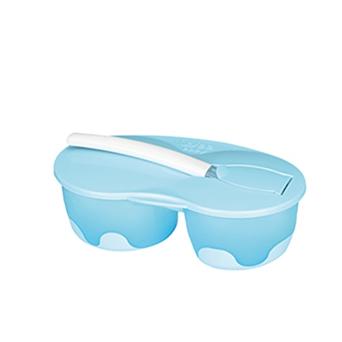 2 Cup Baby Feeding Bowl Set