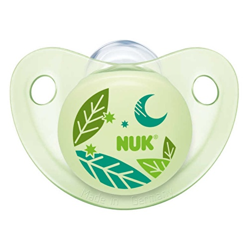 Assorted Trendline Silicone Baby Pacifier 0-6 Months (for Night time) 1 pcs