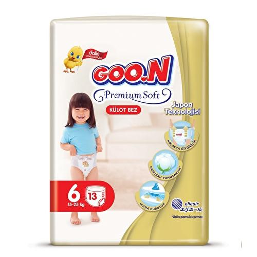 Premium Soft Size 6 Baby Diaper Pants Economic Pack 15-25 kg 14 pcs