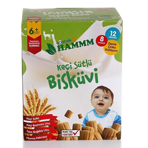 Keçi Sütlü Bebek Bisküvisi 400gr