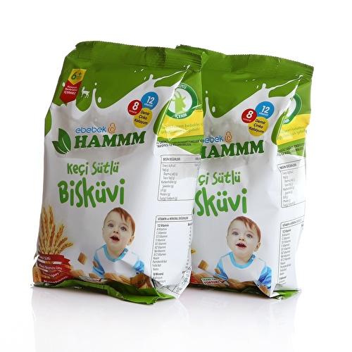 Keçi Sütlü Bebek Bisküvisi 400 gr