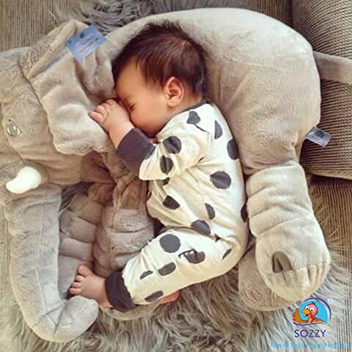 Sleeping Friend Elephant Baby Toy