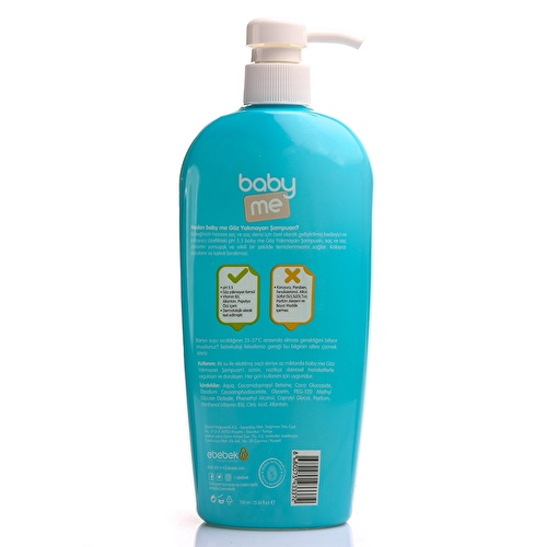 Shampoo For Baby Boys 750 ml