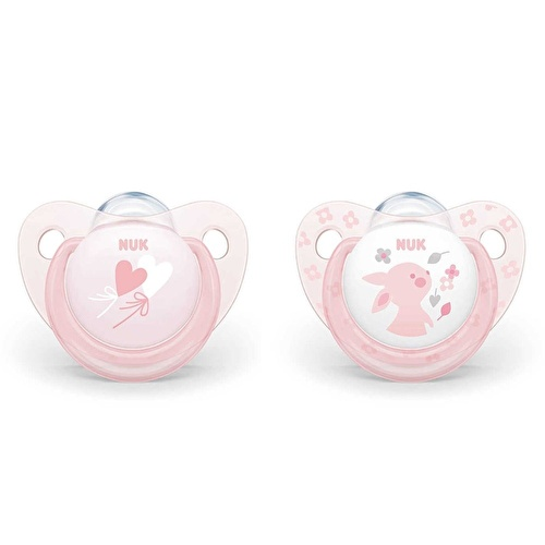 Baby Rose Silicon Pacifier 0-6 Months Single