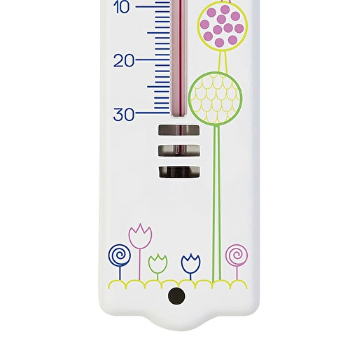 Baby Room Thermometer White