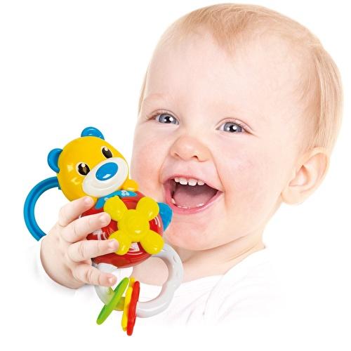 Baby Bear Electronic Rattle