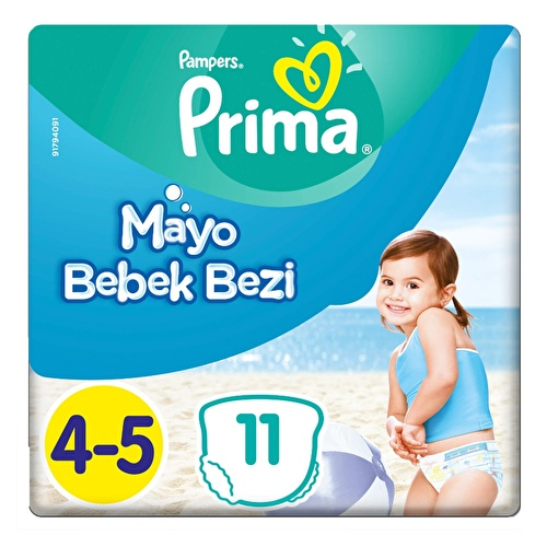 Swim Baby Diapers Size 4 Maxi Pack 9-15 kg 11 pcs
