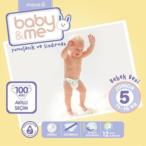 Junior 5 Baby Diaper 11-18 kg 100 pcs