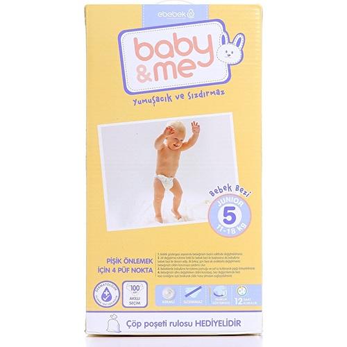 Junior Number 5 Baby Diaper 11-18 kg 100 pcs