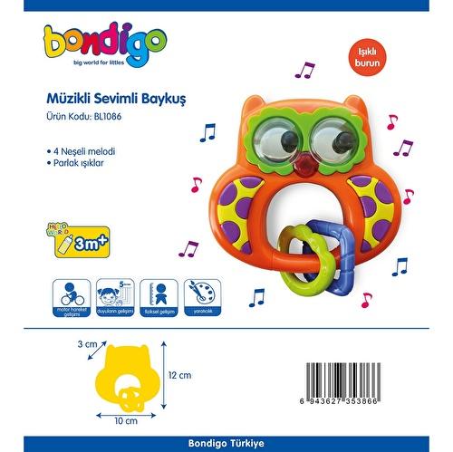 BL1086 Musical Adorable Owl