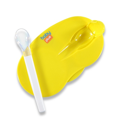 2 Compartment Baby Food Container Set 6 M+
