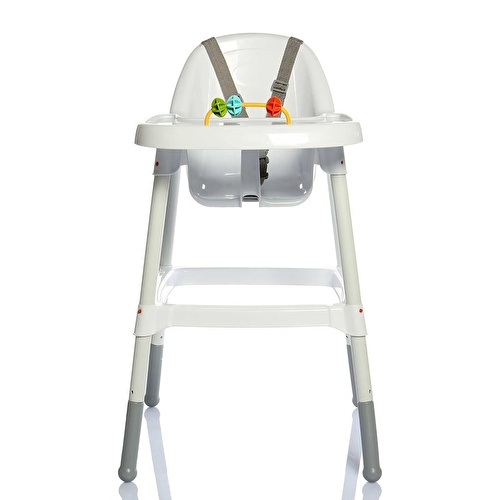 Diny Foldable Baby High Feeding Chair with Toys Detail