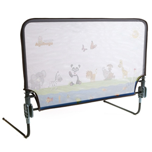 Animal Pattern Foldable Bed Barrier 90x68 cm