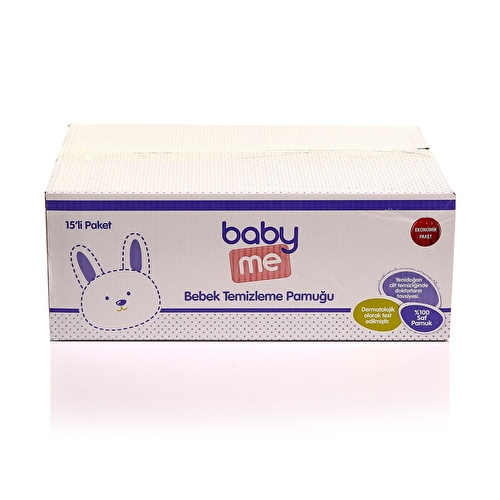 Baby Cleaning Cotton Pads 15x60 pcs