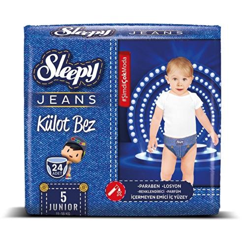 Jeans Külot Bez Junior 5 Beden 11-18 kg 24 Adet