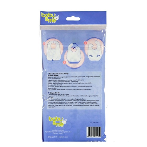 Disposable Baby Bibs 10 Pieces