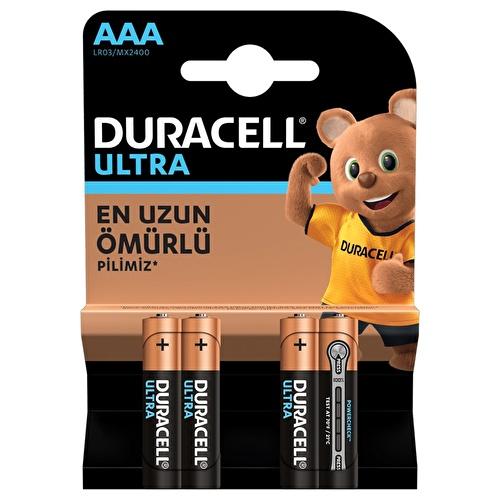 Alkalin AAA Turbo İnce Pil 4 Adet