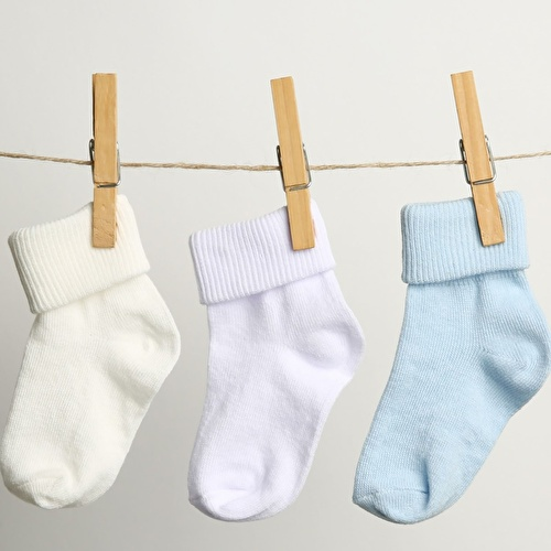 3Lü Kıvrık Çorap