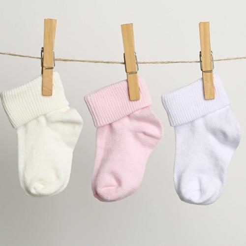Baby Socks 3 Pack - Pink