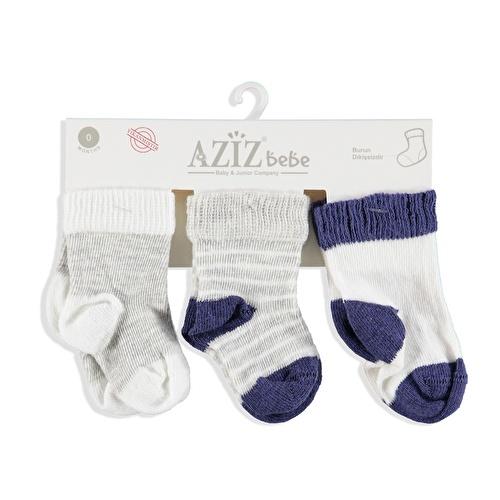 Kış Bebek 3'Lü Çorap