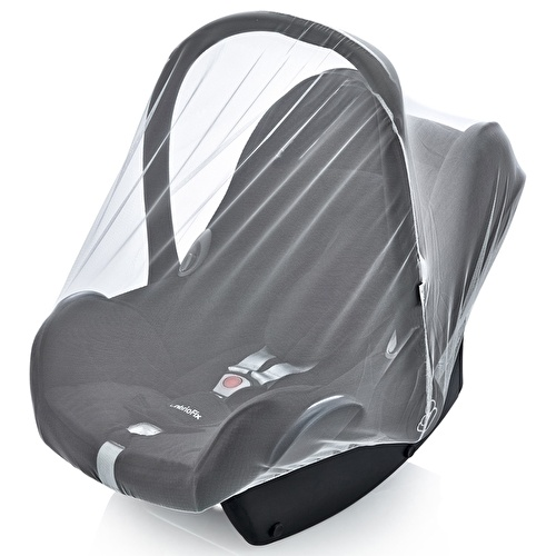 Infant Car Seat Insect Net Black