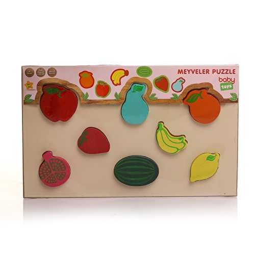 Wooden Baby Fruits Puzzle