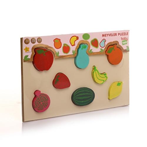 Ahşap Meyveler Bebek Puzzle