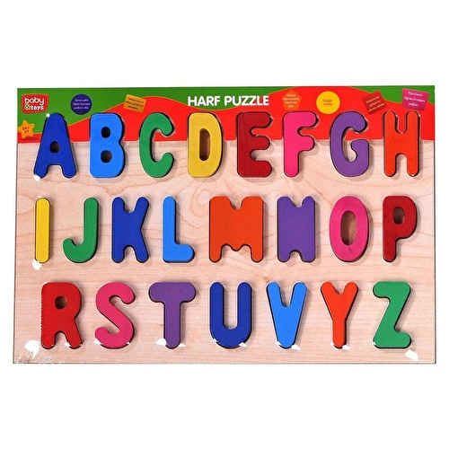 Baby Wooden Letters Puzzle