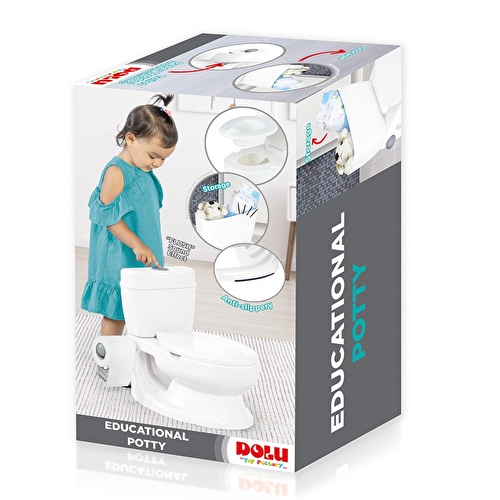 Educational Baby Potty 18 M+ White