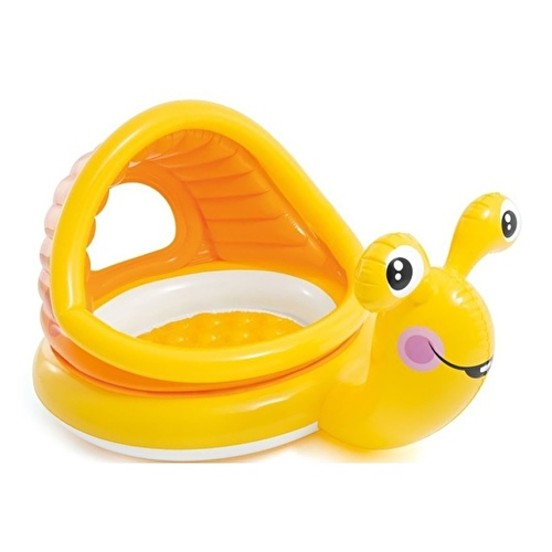 Snail Baby Pool with Shade 145x102x74 cm