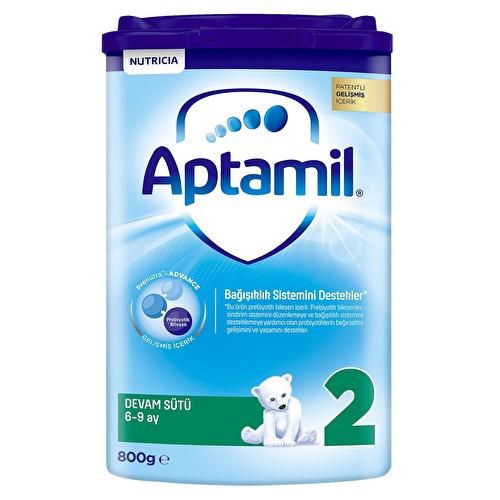 Yeni Aptamil 2 Akıllı Kutu Devam Sütü 800 gr 6-9 Ay