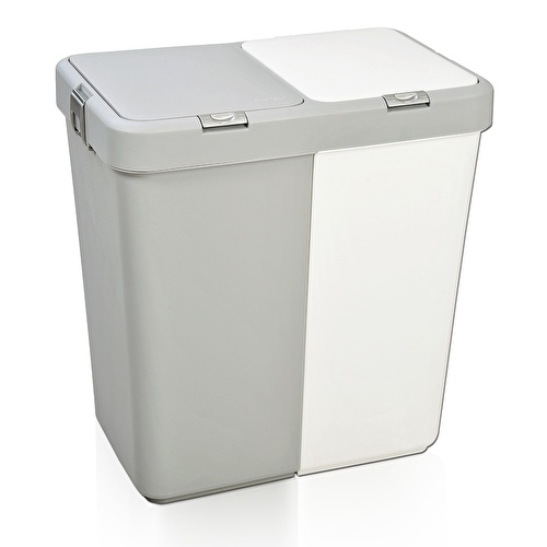 Multi Purpose Double Compartment Laundry Basket
