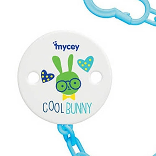Bunny&Indian Baby Pacifier Clip
