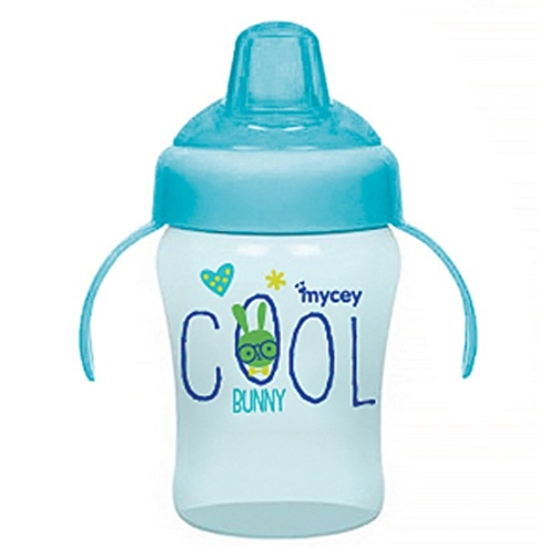 Bunny&Indian Sippy Cup Baby Glass 240 ml