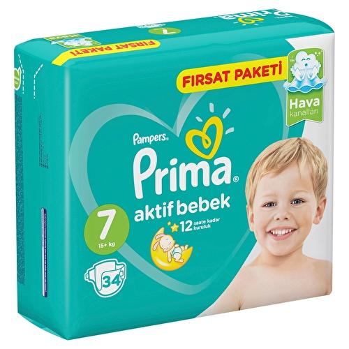 Active Baby Diapers Size 7 XXL Advantage Pack 15+kg 34 pcs