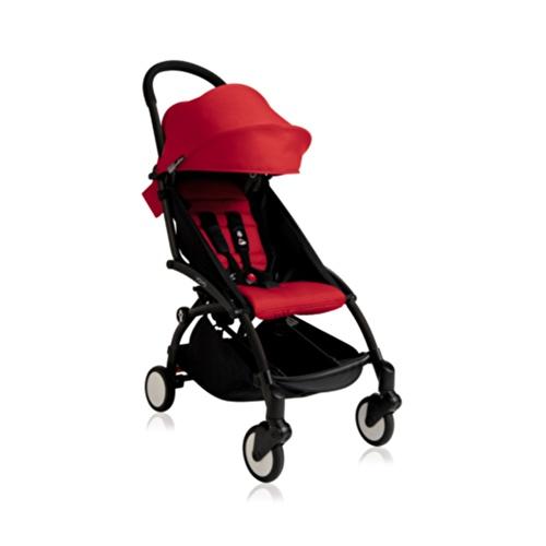 Bebek Arabası Black - Red