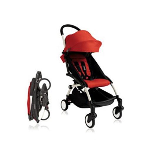 Bebek Arabası White - Red