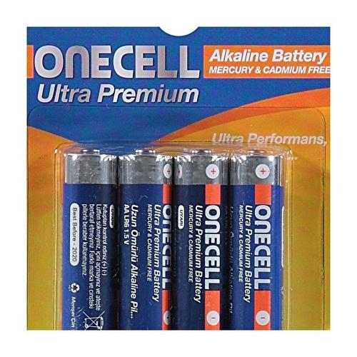 Ultra Premium Alkalin AAA Boy Pil 4lü